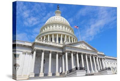 Us National Capitol-Tupungato-Stretched Canvas Print