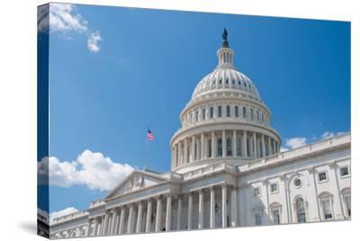 Us Capitol-robhillphoto com-Stretched Canvas Print