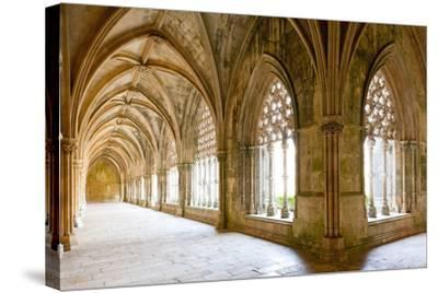 Royal Cloister of Santa Maria Da Vitoria Monastery, Batalha, Estremadura, Portugal-phbcz-Stretched Canvas Print
