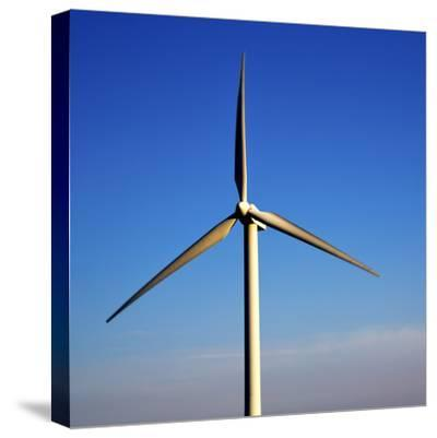In Isle of Lanzarote  Spain Africa Wind Turbines Sky-lkpro-Stretched Canvas Print