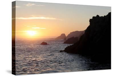 Point Lobos State Reserve Sunset-Dan Schreiber-Stretched Canvas Print