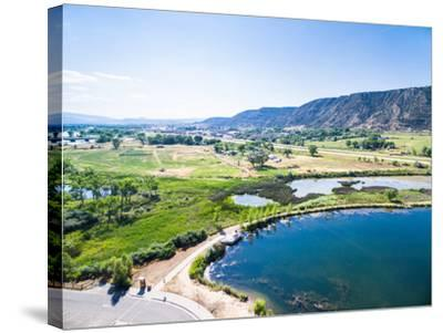 Colorado River-urbanlight-Stretched Canvas Print