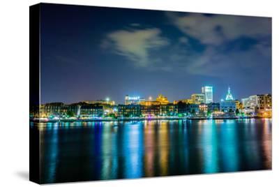Savannah Georgia Waterfront and Street Scenes-digidreamgrafix-Stretched Canvas Print