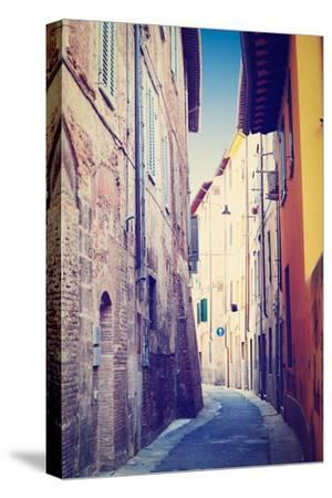 Narrow Alley-gkuna-Stretched Canvas Print