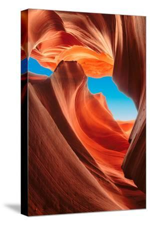 Lower Antelope Canyon, Arizona-lucky-photographer-Stretched Canvas Print