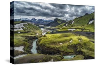The Emstrua River, Thorsmork, Iceland-Arctic-Images-Stretched Canvas Print