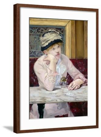 Plum Brandy by ‰Douard Manet-?douard Manet-Framed Giclee Print