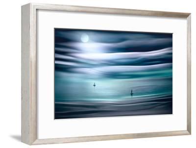 Sailing by Moonlight-Ursula Abresch-Framed Photographic Print