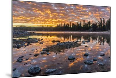 Yellowstone-Art Wolfe-Mounted Photographic Print