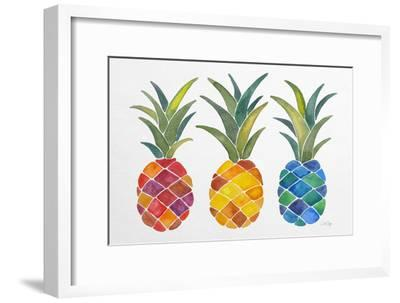 Pineapples-Cat Coquillette-Framed Giclee Print