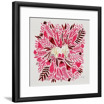 As If - Pink-Cat Coquillette-Framed Giclee Print