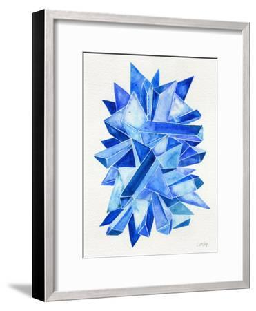 Sapphire-Cat Coquillette-Framed Giclee Print