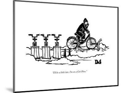 Paul and drew plow