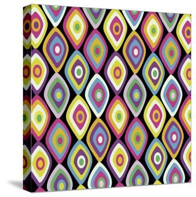 World Pattern 2-Lauren Gibbons-Stretched Canvas Print