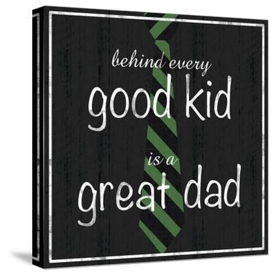Great Dad-Lauren Gibbons-Stretched Canvas Print