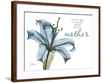Lily Mother-Albert Koetsier-Framed Art Print
