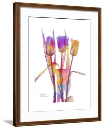 Tulips B16 Watercolor-Albert Koetsier-Framed Art Print