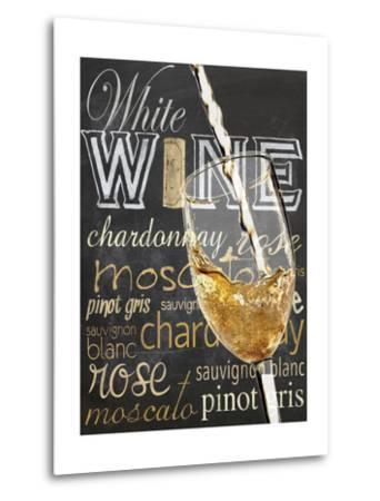 Wine Glass White-Lauren Gibbons-Metal Print