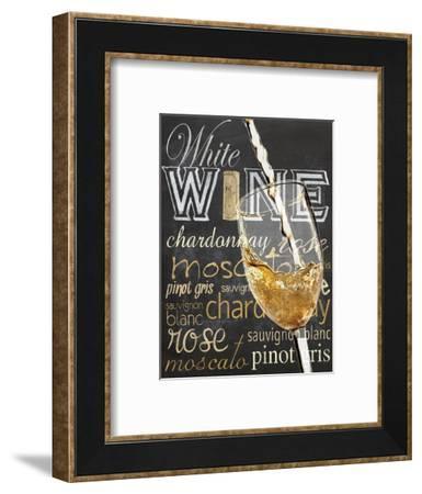 Wine Glass White-Lauren Gibbons-Framed Art Print