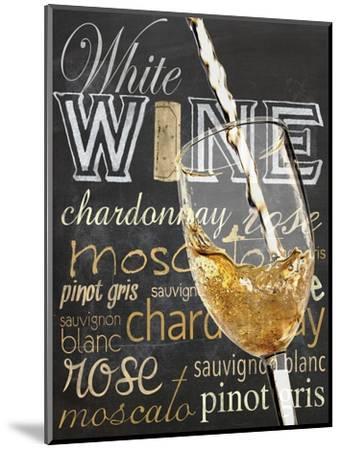 Wine Glass White-Lauren Gibbons-Mounted Art Print