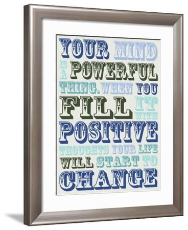 Your Mind-Lauren Gibbons-Framed Art Print