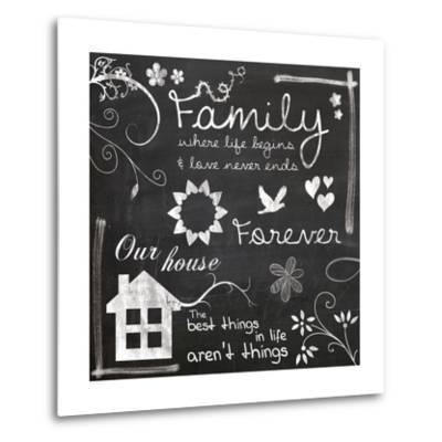 Family Chalk-Lauren Gibbons-Metal Print