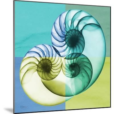 Aqua Filter 3-Albert Koetsier-Mounted Premium Giclee Print