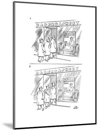 New Yorker Cartoon-Carl Rose-Mounted Premium Giclee Print