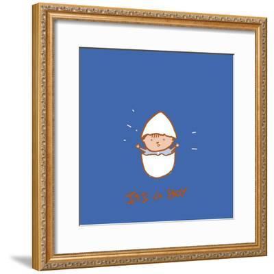 Boy-Anne Cote-Framed Giclee Print