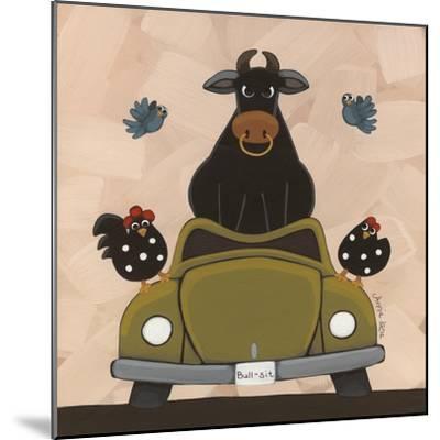 Bull-Sit-Annie Lane-Mounted Giclee Print