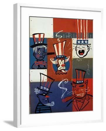 Congress-Anthony Freda-Framed Giclee Print