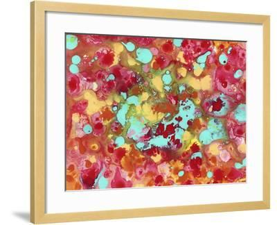 The Cow Jumped over the Moon Abstract-Amy Vangsgard-Framed Giclee Print