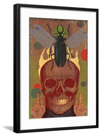 Skull-Anthony Freda-Framed Giclee Print