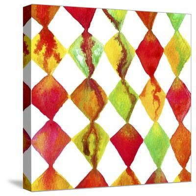 Dripping with Diamonds-Amy Vangsgard-Stretched Canvas Print