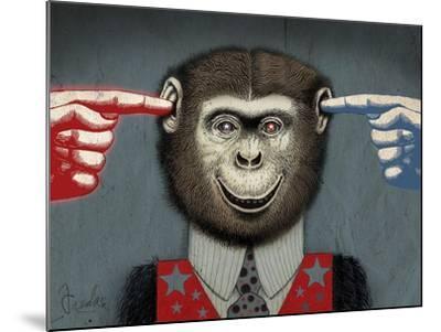 Monkey-Anthony Freda-Mounted Giclee Print