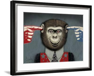 Monkey-Anthony Freda-Framed Giclee Print