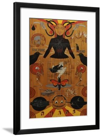 Chaos-Anthony Freda-Framed Giclee Print