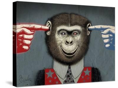 Monkey-Anthony Freda-Stretched Canvas Print