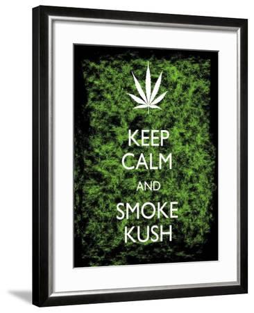 Keep Calm-Ali Potman-Framed Giclee Print