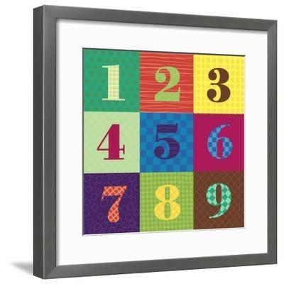 Numbercolors-Ali Lynne-Framed Giclee Print