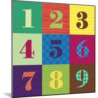 Numbercolors-Ali Lynne-Mounted Giclee Print