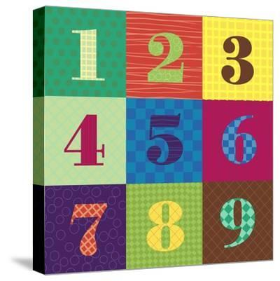 Numbercolors-Ali Lynne-Stretched Canvas Print