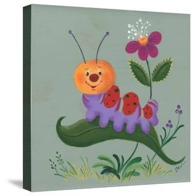 Inch Worm-Beverly Johnston-Stretched Canvas Print