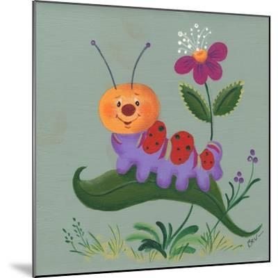 Inch Worm-Beverly Johnston-Mounted Giclee Print