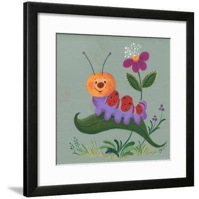 Inch Worm-Beverly Johnston-Framed Giclee Print