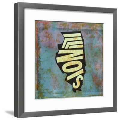 Illinois-Art Licensing Studio-Framed Giclee Print