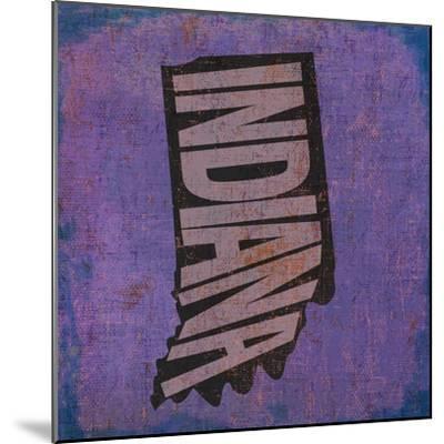 Indiana-Art Licensing Studio-Mounted Giclee Print