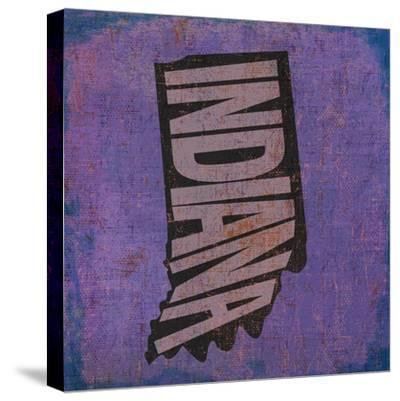 Indiana-Art Licensing Studio-Stretched Canvas Print