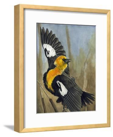 The Flirt-Barbara Keith-Framed Giclee Print