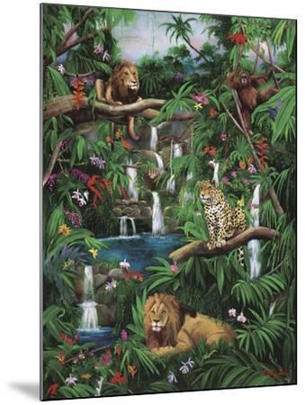 Freedom in the Jungle-Betty Lou-Mounted Giclee Print